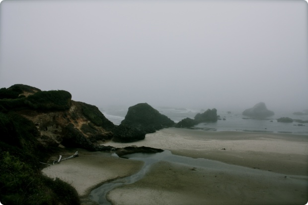 fog cliffs