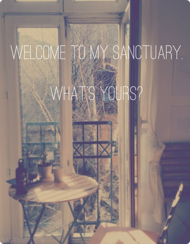 sanctuary text round